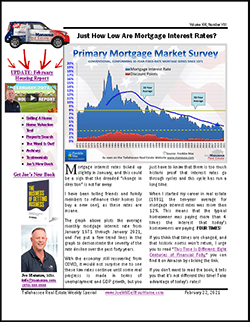 Weekly Special real estate report covers the Tallahassee real estate market