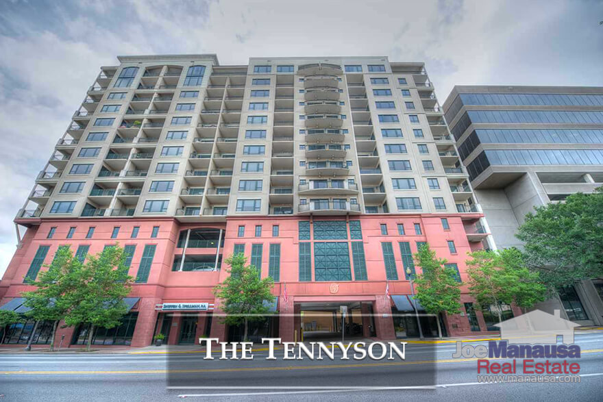 Downtown living at its best! The Tennyson Condominium development in downtown Tallahassee, Florida