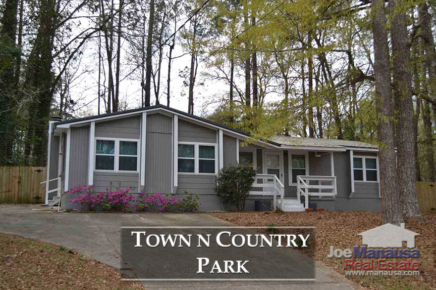 Town N Country Park is a NW Tallahassee neighborhood remains undervalued and some great buys can typically be found if you pay close attention