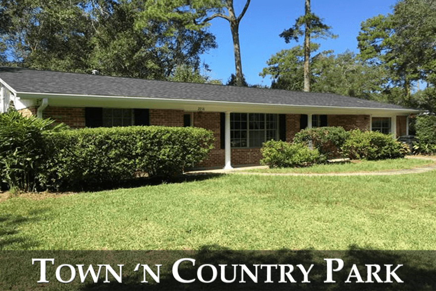 Town N Country Park is a centrally located neighborhood in the heart of the Tallahassee real estate market.