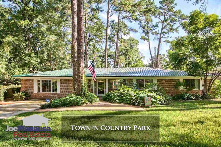 Town N Country Park is a popular NW Tallahassee neighborhood that remains undervalued and often times contains some of the best values in town