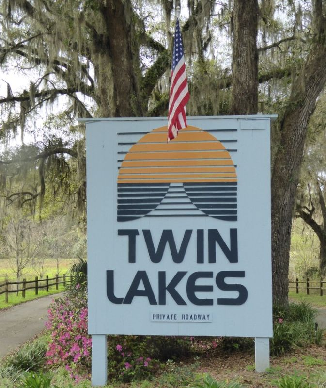 Twin Lakes Community on the East side of Tallahassee, Florida