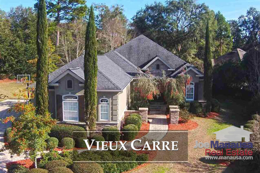 If you are shopping for a courtyard style home situated in NE Tallahassee  (below the interstate), then Vieux Carre might just blow you away