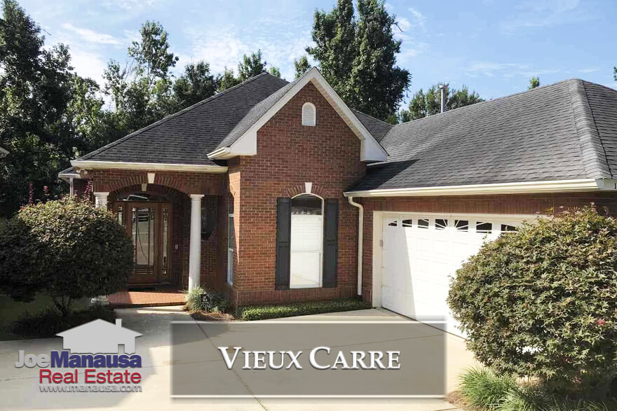 Vieux Carre is a small courtyard-style neighborhood just north of Midtown in Tallahassee and homes here sell very fast