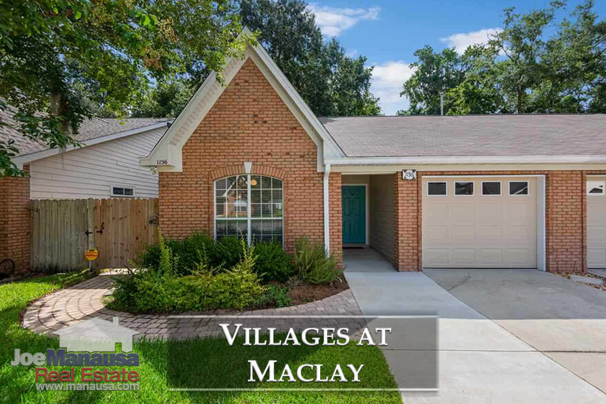 Located just south of Maclay Gardens (off the west side of Thomasville Road), the Villages At Maclay is one highly active selling neighborhood over the past six months
