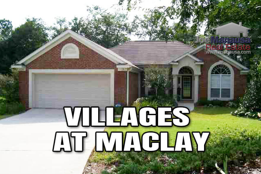 The Villages At Maclay is located in Northeast Tallahassee Florida