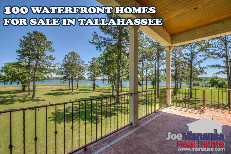 100 Waterfront Homes For Sale In Tallahassee