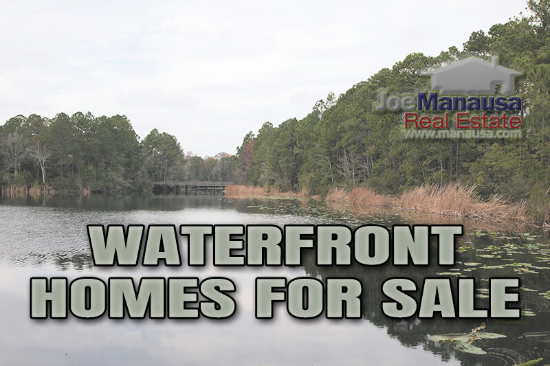 Take a look at the twenty waterfront homes for sale right now in Tallahassee and then see our report on waterfront property valuations.