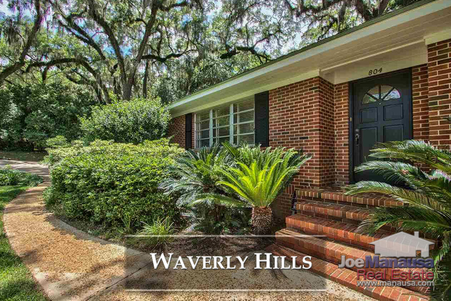 If you want to live in Midtown in Tallahassee, keep an eye on Waverly Hills, with roughly 400 homes that surround a small pond.