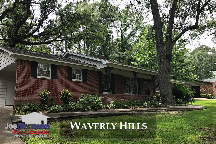 Waverly Hills is located on the north side of Midtown in Tallahassee, a quaint little neighborhood with roughly 400 homes surrounding a small pond