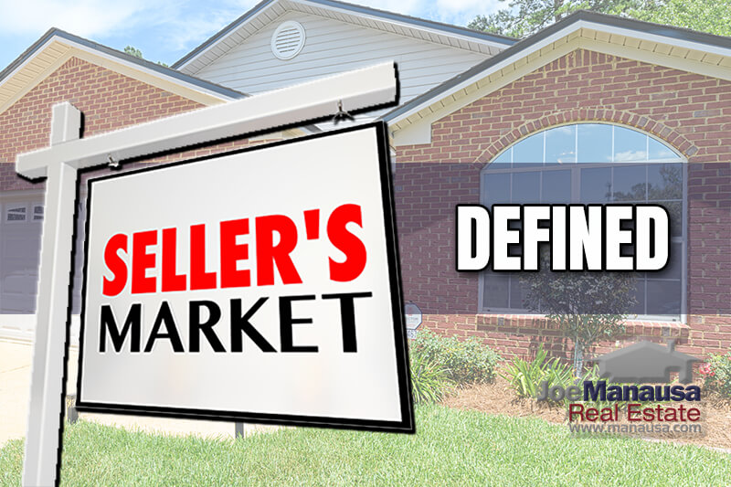 You might have heard that we have a huge seller's market right now in real estate. Do you know what that means?