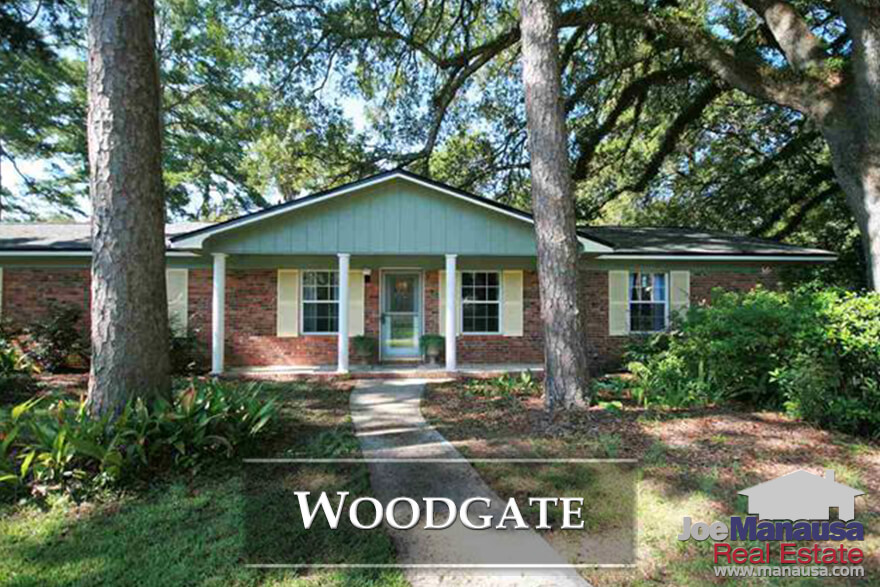 The following list of homes are all the active listings in Woodgate at this very moment