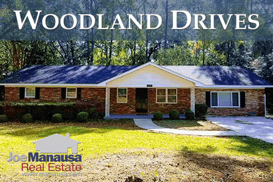 Historic Woodland Drives neighborhood offers large wooded lots like you would find in some far-out suburbs, yet is located within walking distance to the State Capitol building, shopping, dining, and downtown entertainment. Even as home values recover rapidly, Woodland Drives still has a few great opportunities remaining.