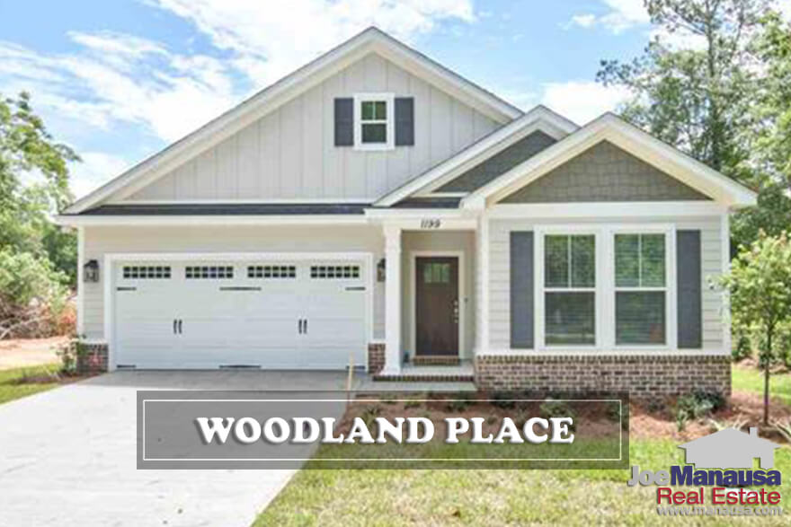 For a brand new neighborhood, Woodland Place is selling homes fast