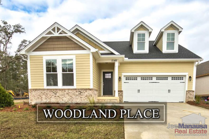 Woodland Place is a new construction neighborhood on the east side of Tallahassee