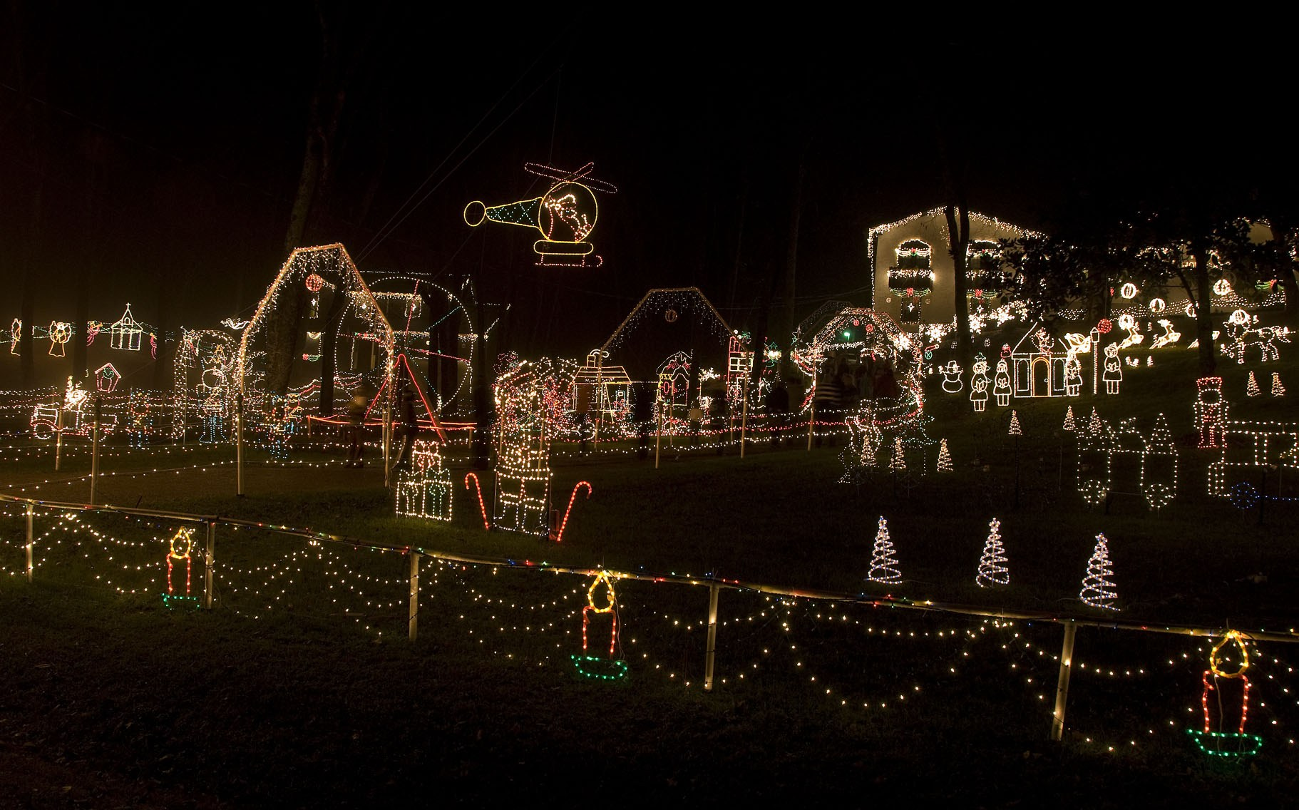 Must See Holiday Light Display in the Nashville Area