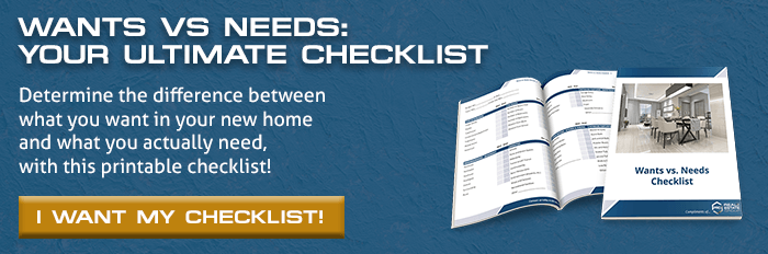 Wants vs Needs Checklist CTA Image