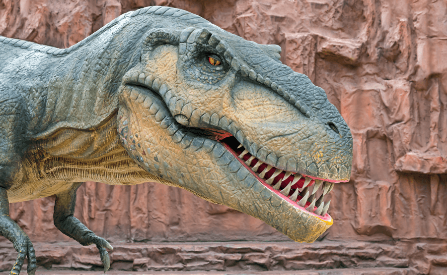 7 Awesome Things to do in Edmonton (and only in the summer) Dinosaur Image