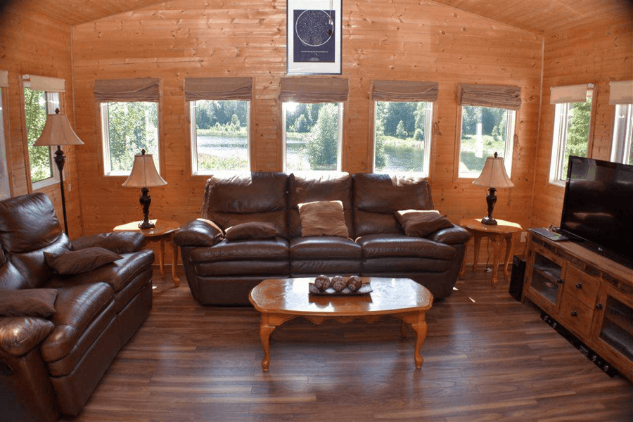 Featured Listing: 1401 Twp Rd 540, Rural Parkland County Living Room Image