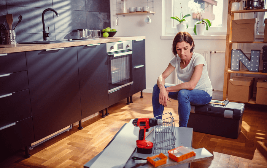 8 Common Renovation Mistakes and How to Avoid ThemFrustrated Woman Image