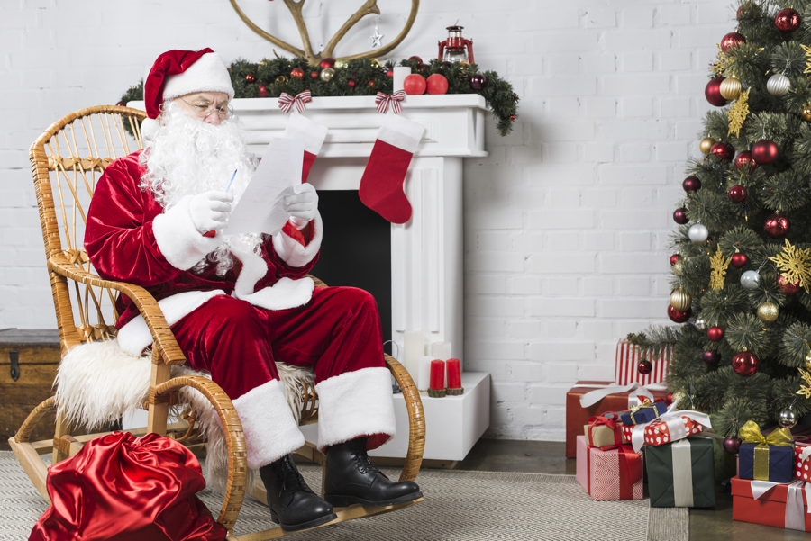 Pet Photos With Santa in Edmonton 2019 Santa Image