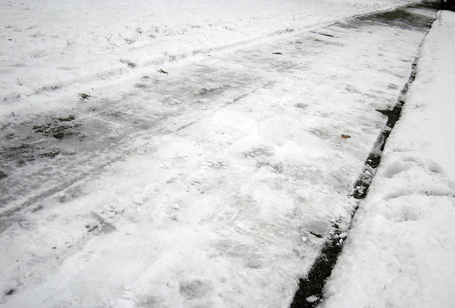 Your Essential Home Maintenance Checklist For Winter Sidewalk Image