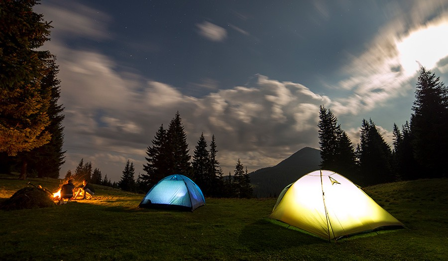 9 Ideas For an Awesome Edmonton Staycation Camping Image