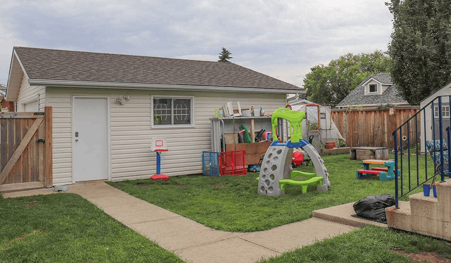 Featured Listing: 8811 152B Ave Backyard Image