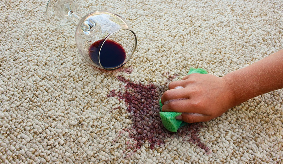 9 DIY Life Hacks Every Homeowner Should Know Carpet Stain Image