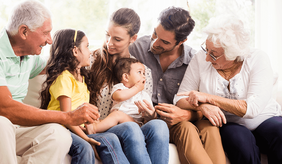 All In the Family: 5 Tips For Multi-Generational Living Family Image