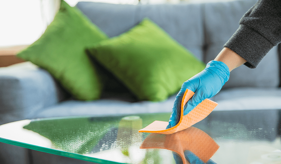 11 Things People With Ultra-Clean Homes Do Every Single Day Disinfecting Image