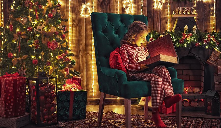 Festive Christmas Quarantine Ideas Child Image