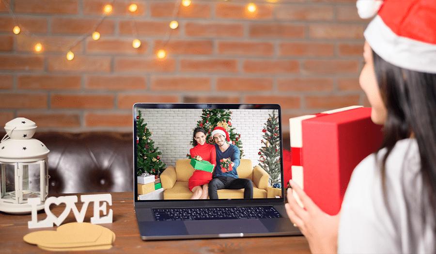 Festive Christmas Quarantine Ideas Zoom Image