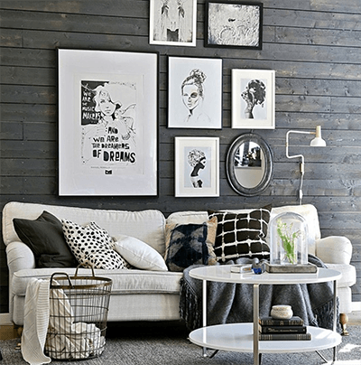 Best Home Decor Tips for People Who Can't Decor Gallery Wall Image