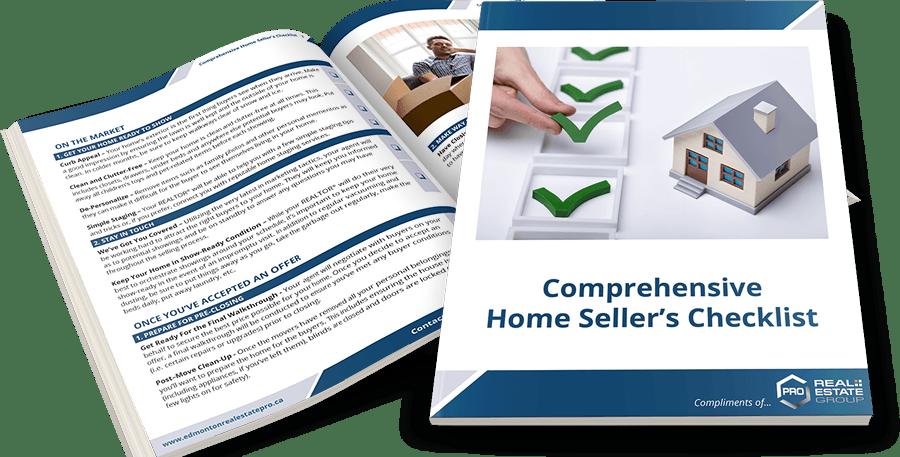 Home Seller's Checklist Spread Image