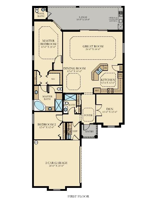 Arbor Grande Catalina Floor Plan