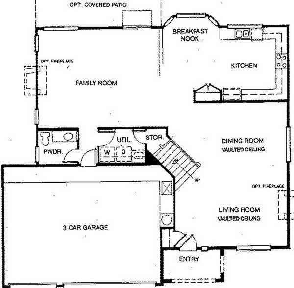 Beazer Homes Sawgrass first floor