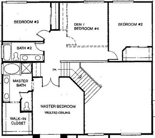 Beazer Homes Sawgrass second floor