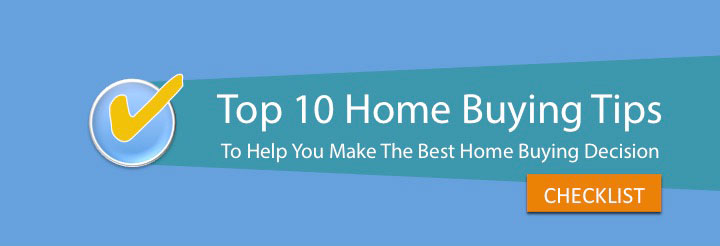 Banner display for the Top 10 Tips for home buyers