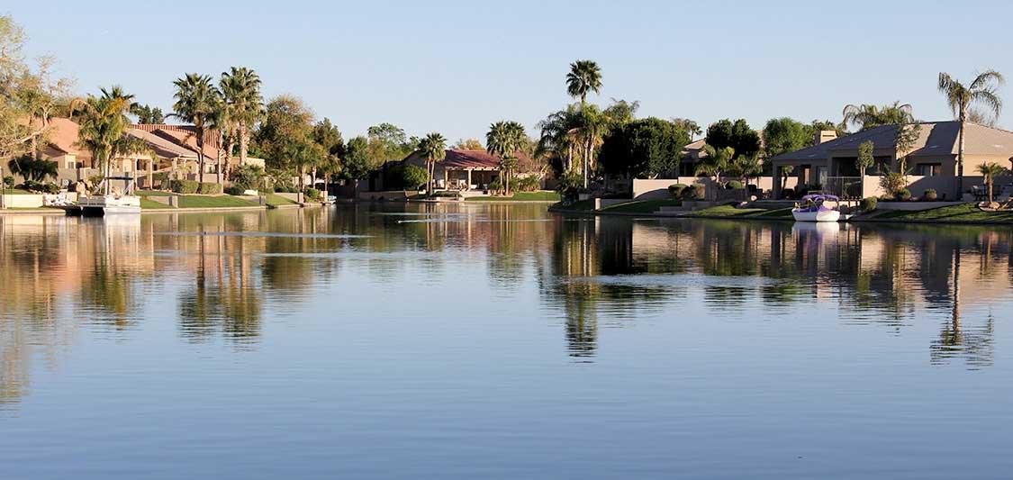 View of Ocotillo Lakes