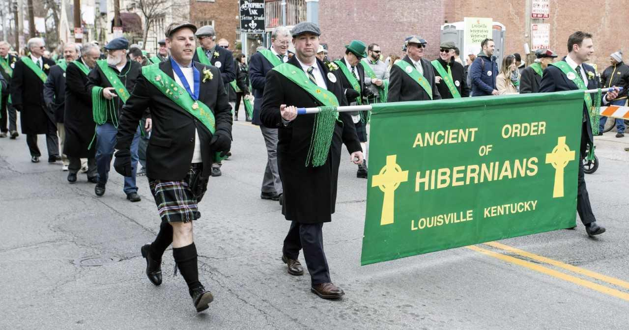 St Patrick's Day Parade in Louisville