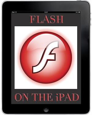 Flash on the iPad