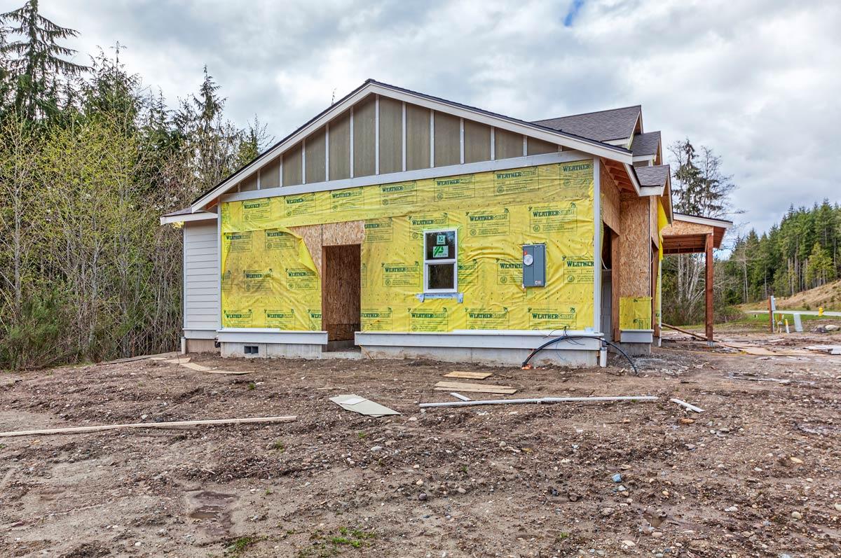 Athena Exterior Construction Photo