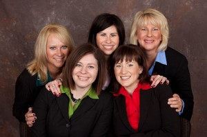 Kristie Smith and the Indy Homes real estate team