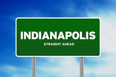 Indianapolis highway sign