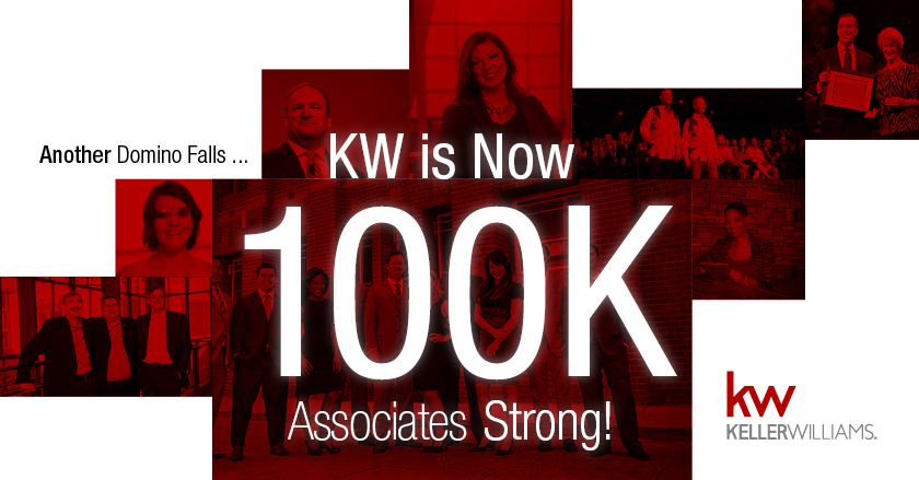 Keller Williams tops 100,000 agents