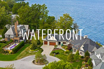 Luxury waterfront homes in Indianapolis