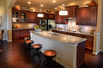 Drees Homes Clarity Collection kitchen