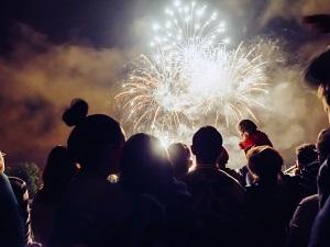 Fireworks over Zionsville