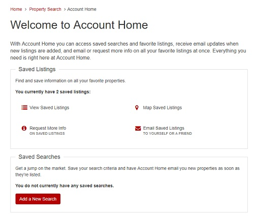 Account Home